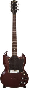 Musical Instruments:Electric Guitars, Gibson SG Special Cherry Solid Body Electric Guitar, #899897. ...