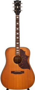 Musical Instruments:Acoustic Guitars, 1974-76 Gibson SJ Deluxe Natural Acoustic Guitar, #N/A. ...