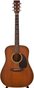 Musical Instruments:Acoustic Guitars, 1977 Martin D-19 Natural Acoustic Guitar, #389526....