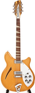 Musical Instruments:Electric Guitars, 1968 Rickenbacker 360/12NS Mapleglo Semi-Hollow Body ElectricGuitar, #HJ1574....