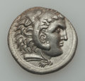Ancients:Greek, Ancients: MACEDONIAN KINGDOM. Alexander III the Great (336-323 BC).AR tetradrachm (15.62 gm). ...