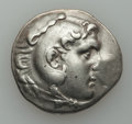 Ancients:Greek, Ancients: MACEDONIAN KINGDOM. Alexander III the Great (336-323 BC).AR tetradrachm (16.62 gm). ...