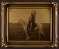 American Indian Art:Photographs, A NORTHERN PLAINS CHIEF. c. 1910...