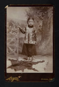 American Indian Art:Photographs, THREE STUDIO PORTRAITS OF NATIVE AMERICAN GIRLS . c. 1890. ...(Total: 3 Items)