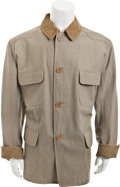 """Movie/TV Memorabilia:Costumes, A Stockade Jacket from """"Rooster Cogburn.""""..."""