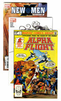Modern Age (1980-Present):Superhero, Alpha Flight/Mutant Title Related Long Box Group (Marvel, 1983-08)Condition: Average NM-....