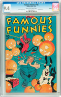 Golden Age (1938-1955):Miscellaneous, Famous Funnies #135 Rockford pedigree (Eastern Color, 1945) CGC NM 9.4 Cream to off-white pages....