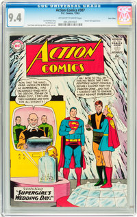 Action Comics #307 Twin Cities pedigree (DC, 1963) CGC NM 9.4 Off-white to white pages