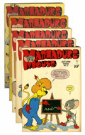 "Golden Age (1938-1955):Funny Animal, Marmaduke Mouse Davis Crippen (""D"" Copy) pedigree Group (Quality,1946-48).... (Total: 5 Comic Books)"