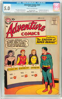 Adventure Comics #247 (DC, 1958) CGC VG/FN 5.0 Cream to off-white pages