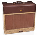 Musical Instruments:Amplifiers, PA, & Effects, 1955 Gibson Les Paul GA-40 Two-tone Brown Guitar Amplifier....