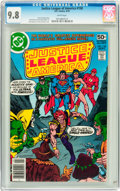 Bronze Age (1970-1979):Superhero, Justice League of America #158 (DC, 1978) CGC NM/MT 9.8 White pages....