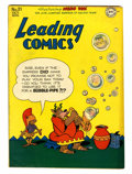 "Golden Age (1938-1955):Funny Animal, Leading Comics #21 Davis Crippen (""D"" Copy) pedigree (DC, 1946)Condition: VF/NM...."