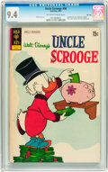 Bronze Age (1970-1979):Cartoon Character, Uncle Scrooge #98 File Copy (Gold Key, 1972) CGC NM 9.4 Off-whiteto white pages....