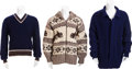 Movie/TV Memorabilia:Costumes, Three Sweaters, 1970s.... (Total: 3 Items)