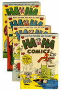 "Golden Age (1938-1955):Funny Animal, Ha Ha Comics Davis Crippen (""D"" Copy) pedigree Group (ACG,1950-51).... (Total: 4 Comic Books)"