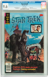 Star Trek #56 (Gold Key, 1978) CGC NM+ 9.6 White pages