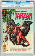Silver Age (1956-1969):Adventure, Tarzan #159 (Gold Key, 1966) CGC NM/MT 9.8 Off-white to white pages....
