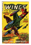 Golden Age (1938-1955):War, Wings Comics #113 (Fiction House, 1951) Condition: VF....