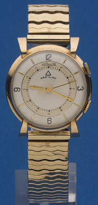 LeCoultre Memovox Gold Filled Alarm