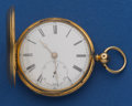 Timepieces:Pocket (pre 1900) , Henry Harrison Liverpool Gold Lever Fusee. ...
