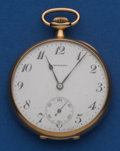 Timepieces:Pocket (post 1900), Howard 14k Gold 19 Jewel 12 Size. ...