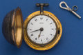 Timepieces:Pocket (pre 1900) , Edward Prior Early Verge For The Turkish Market. ...