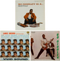 Music Memorabilia:Recordings, Bo Diddley/ James Brown Mono LP Group of 3 (1958-61).... (Total: 3Items)