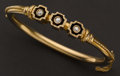 Estate Jewelry:Bracelets, Diamond & Gold Bracelet. ...