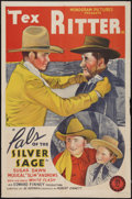 """Movie Posters:Western, Pals of the Silver Sage (Monogram, 1940). One Sheet (27"""" X 41""""). Western.. ..."""