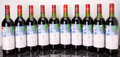 Red Bordeaux, Chateau Mouton Rothschild 1982 . Pauillac. 2bn, 4ts, 2vhs,1hs, owc. Bottle (12). ... (Total: 12 Btls. )
