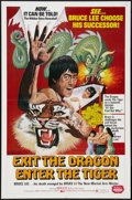 "Movie Posters:Action, Exit the Dragon, Enter the Tiger (Dimension, 1976). One Sheet (27""X 41""). Action.. ..."