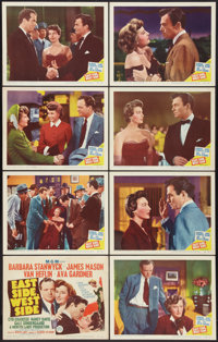"""East Side, West Side (MGM, 1950). Lobby Card Set of 8 (11"""" X 14""""). Drama. ... (Total: 8 Items)"""