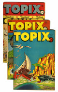 "Golden Age (1938-1955):Religious, Topix Davis Crippen (""D"" Copy) pedigree Group (Catechetical Guild,1946-47).... (Total: 3 Comic Books)"