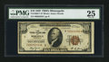 Small Size:Federal Reserve Bank Notes, Fr. 1860-I* $10 1929 Federal Reserve Bank Note. PMG Very Fine 25.. ...