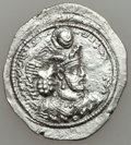 Ancients:Ancient Lots  , Ancients: SASANIAN KINGDOM. Lot of two AR drachms (2). ... (Total: 2 coins)