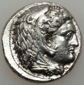 Ancients:Greek, Ancients: MACEDONIAN KINGDOM. Alexander III the Great (336-323BC). AR tetradrachm (17.01 gm). ...