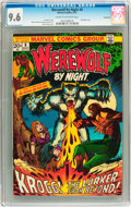 Bronze Age (1970-1979):Horror, Werewolf by Night #8 Savannah pedigree (Marvel, 1973) CGC NM+ 9.6Cream to off-white pages....