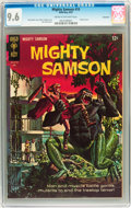 Silver Age (1956-1969):Adventure, Mighty Samson #10 Savannah pedigree (Gold Key, 1967) CGC NM+ 9.6 Cream to off-white pages....