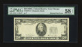 Error Notes:Missing Third Printing, Fr. 2076-G $20 1988A Federal Reserve Note. PMG Choice About Unc 58 EPQ.. ...