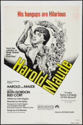"Movie Posters:Comedy, Harold and Maude (Paramount, R-1979). One Sheet (27"" X 41""). Comedy.. ..."