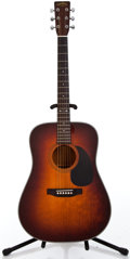 Musical Instruments:Acoustic Guitars, 1980's Sigma Martin DM-4S Sunburst Acoustic Guitar #804158...