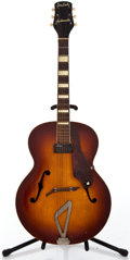 Musical Instruments:Electric Guitars, 1940's Gretsch Synchromatic Sunburst Archtop Electric Guitar#N/A...