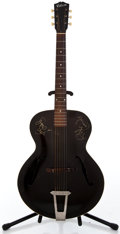 Musical Instruments:Acoustic Guitars, 1930's Gibson L-30 Black Archtop Acoustic Guitar #N/A...