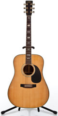 Musical Instruments:Acoustic Guitars, 1980's Sigma by Martin DR-41 Natural Acoustic Guitar #528638...