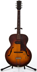 Musical Instruments:Electric Guitars, 1954 Gibson ES125 Sunburst Semi-Hollow Body Electric Guitar#X75383...