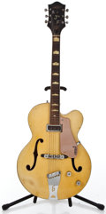 Musical Instruments:Electric Guitars, 1956 Gretsch 6189 Streamliner Bamboo Yellow Semi-Hollow BodyElectric Guitar #21550...