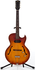 Musical Instruments:Electric Guitars, 1961 Gibson ES125TC Sunburst Semi-Hollow Body Electric Guitar#23247...