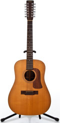 Musical Instruments:Acoustic Guitars, 1979 Washburn Prairie Song D-62 SW-12 Natural 12 String AcousticGuitar #680012...