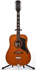 Musical Instruments:Acoustic Guitars, 1960's EKO Ranger XII Natural 12 String Acoustic Guitar #406739...